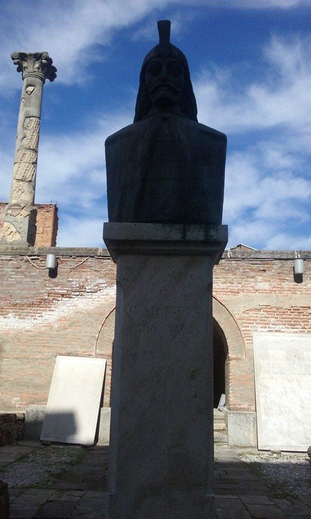 Curtea Domneasca Bucuresti, Vlad Tepes
