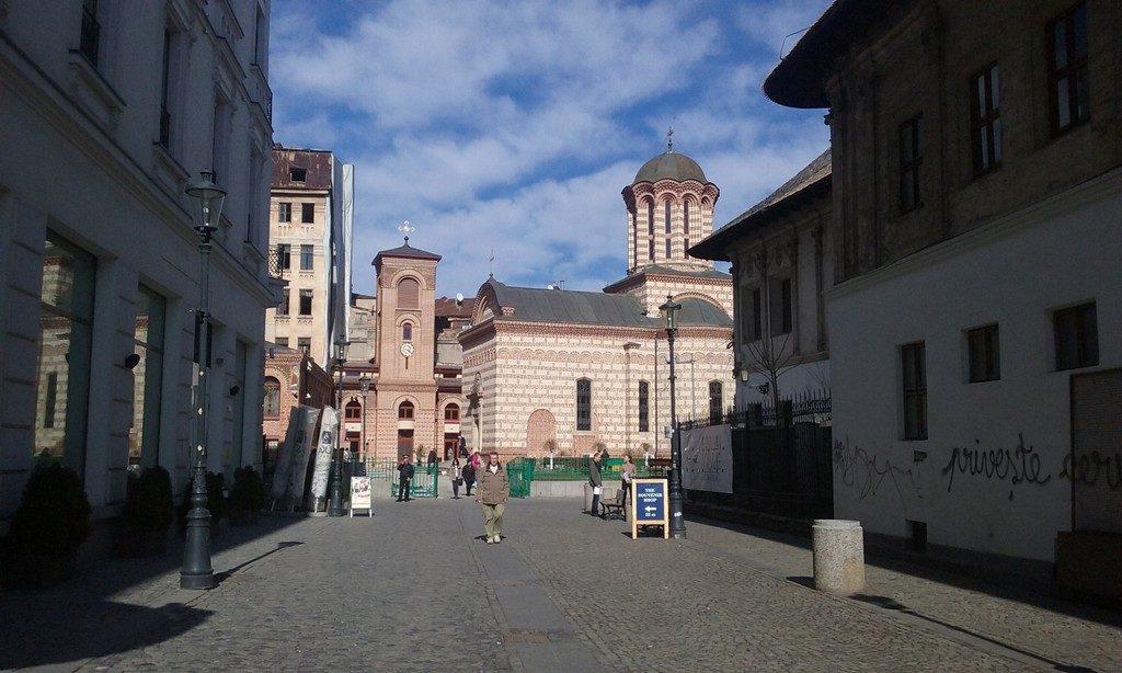 Centrul Vechi Bucuresti , biserica sfantul anton