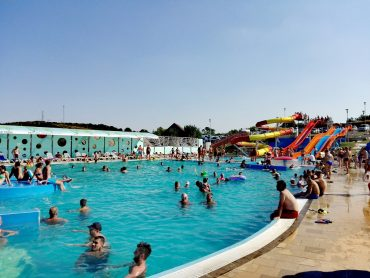 Obiective turistice in Dej, Romania, Complex Balnear Toroc, apa sarata