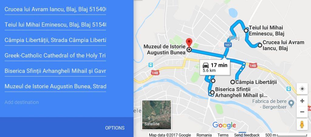 obiective turistice in Blaj, Romania, judetul Alba