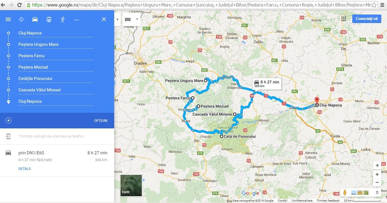 Din Cluj la pesterile Unguru Mare, Farcu, Meziad, Cetatile Ponorului si Cascada Valul Miresei