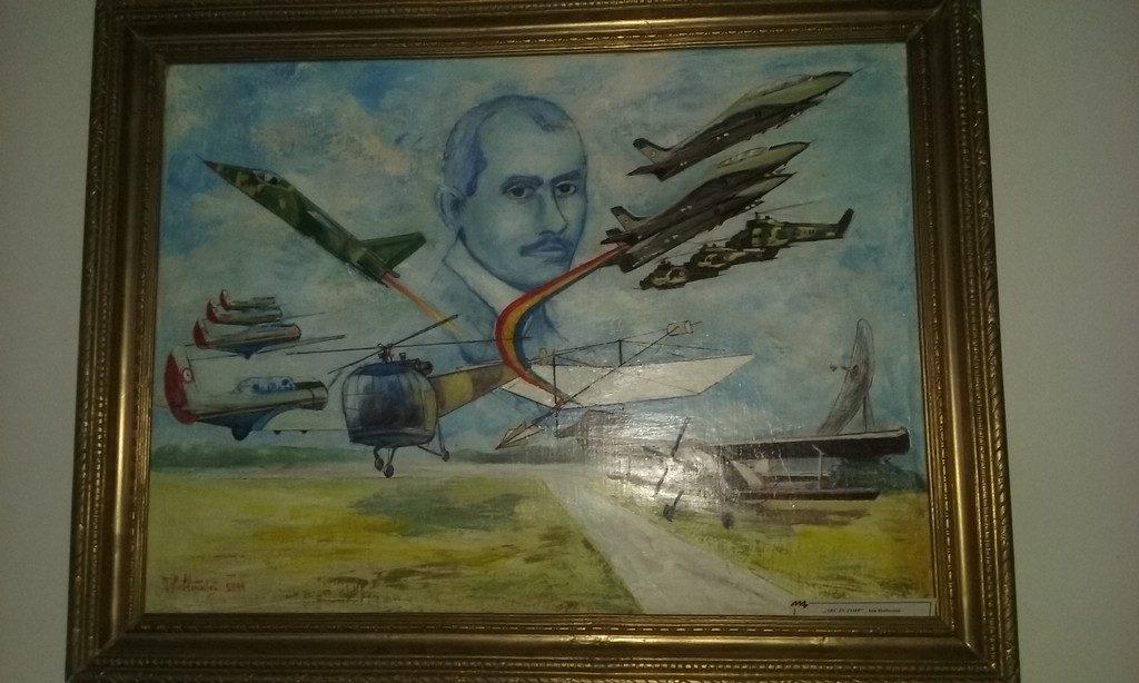 Muzeul Aviatiei din Bucuresti, obiective turistice Romania, Traian Vuia, Aurel Vlaicu, avion, elicopter