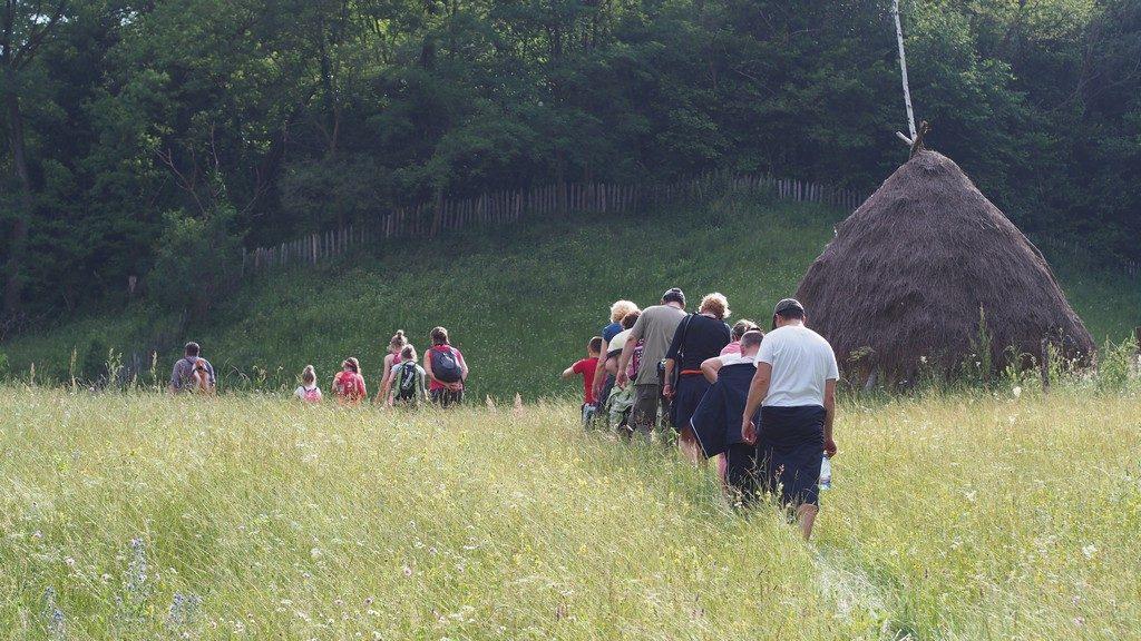Spre Cetatea Dacica Cetatuia (2)