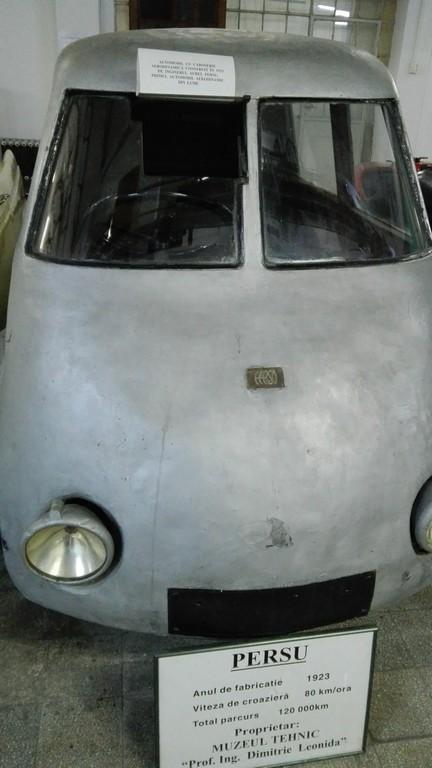 Aurel Persu, prima masina aerodinamica, Obiective turistice Bucuresti, Muzeul tehnicii Dimitrie Leonida, Romania