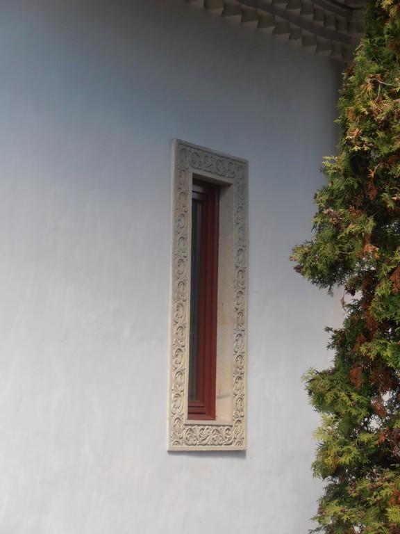 ancadrament sculptat fereastra