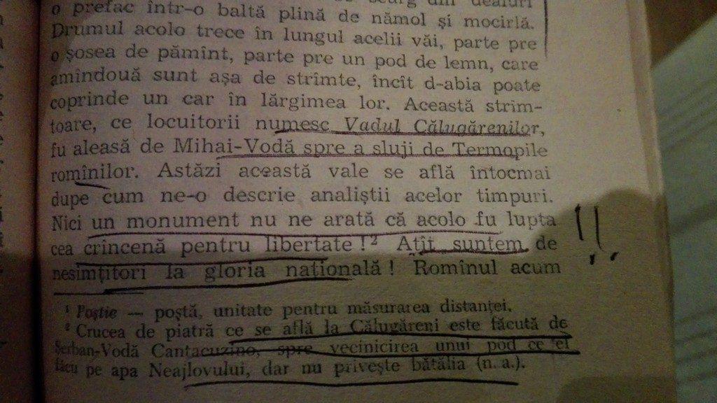 Balcescu, Lupta de la Calugareni