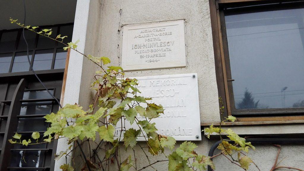 Casele memoriala ale scriitorilor Ion Minulescu si Liviu Rebreanu.