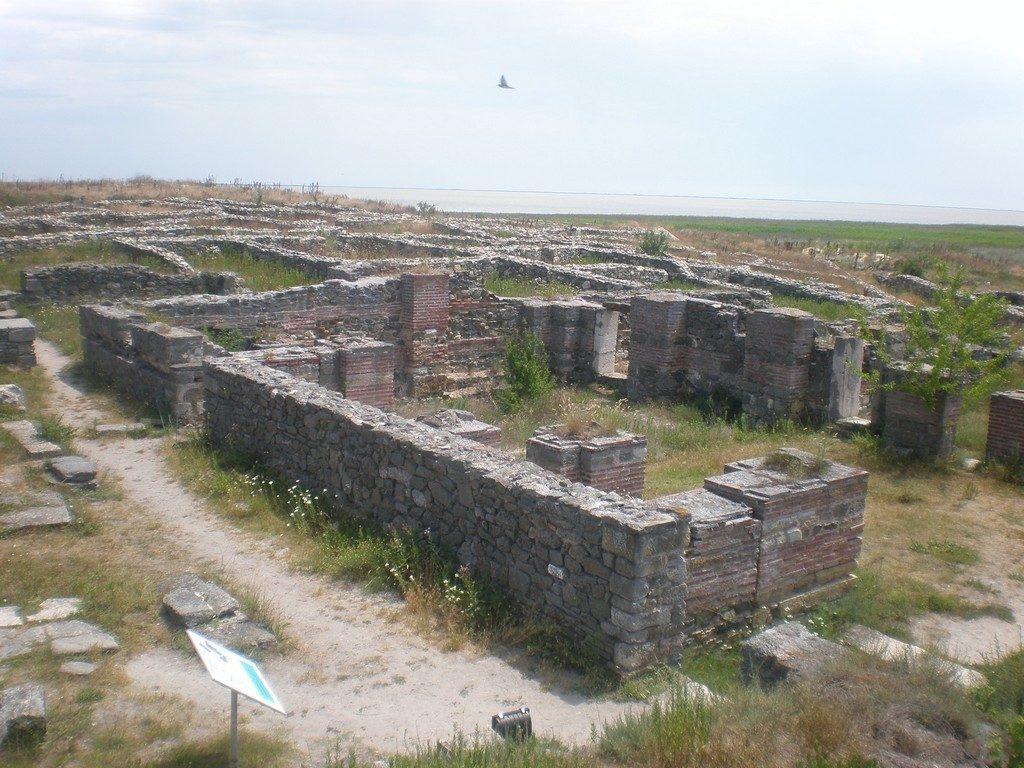 Cetatea Histria, obiective turistice din Romania, infoturism Dobrogea