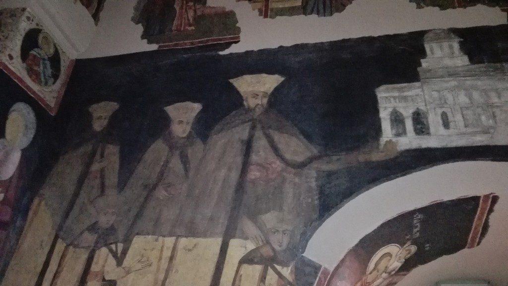 biserica conacului brancovenesc de la Potlogi
