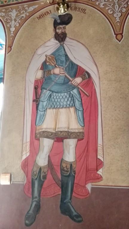 pictura interioara Manastirea Dealu