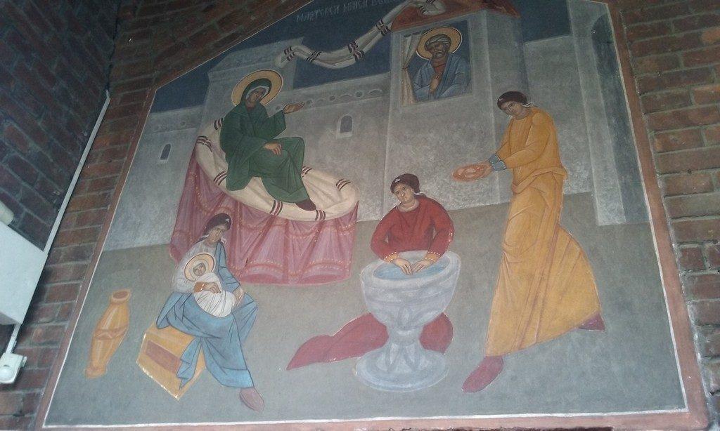 Manastirea Pissiota, pictor Costin Petrescu