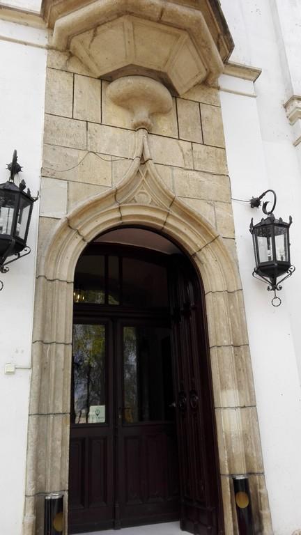 Palatul Stirbey, intrare