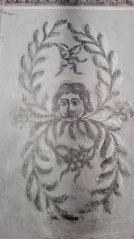 pictura interioara biserica catolica Darlos