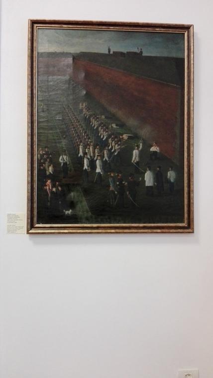 Muzeul revolutiei de la 1848, Executarea conducatorilor revolutiei
