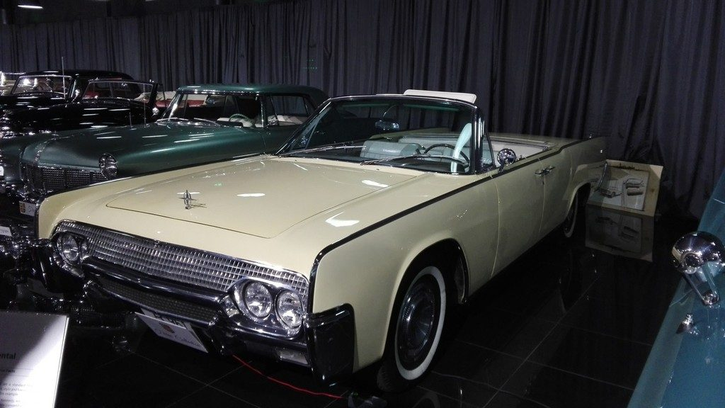 Lincoln Continental, JF Kenedy