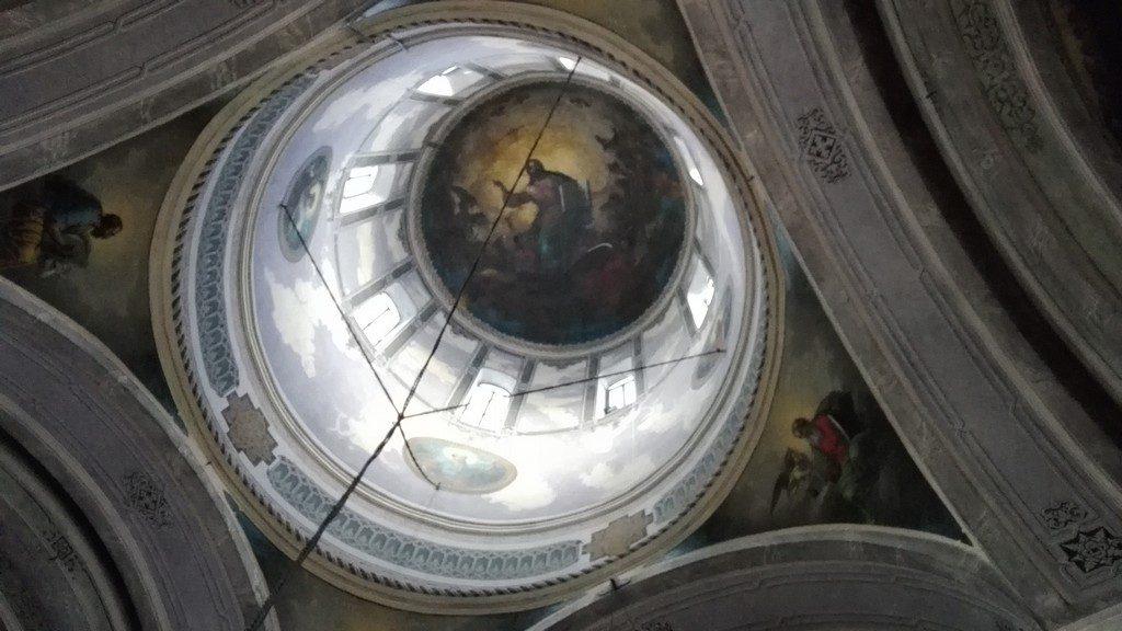 Manastirea Bistrita pictata de Tattarescu Gheorghe