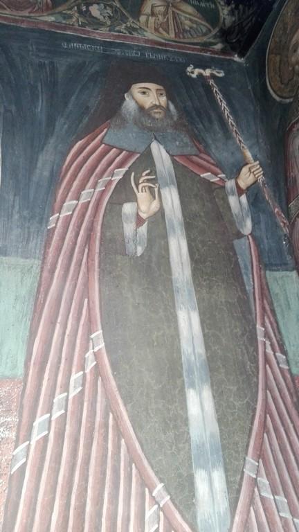 pictura murala Manastirea Govora