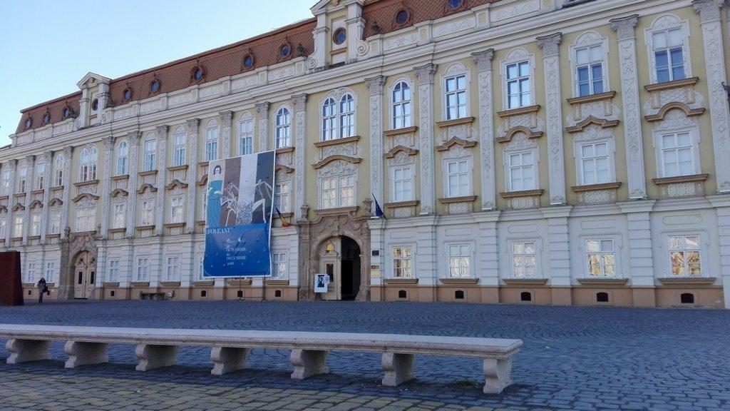 Palatul Baroc Timisoara, Muzeul de arta