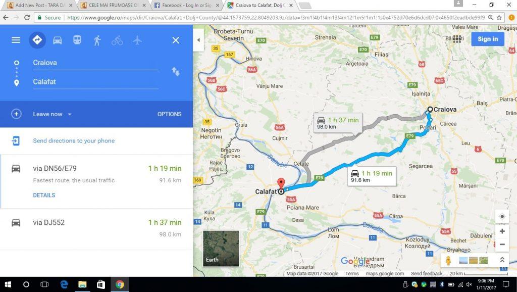 De la Craiova la Calafat, obiective turistice in judetul Dolj
