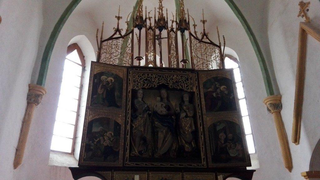 Biserica fortificata Bagaciu, obiective turistice Transilvania, Mures, Romania, concediu