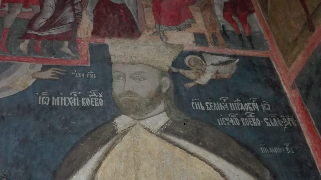 Mihai Viteazul, Manastirea Calui