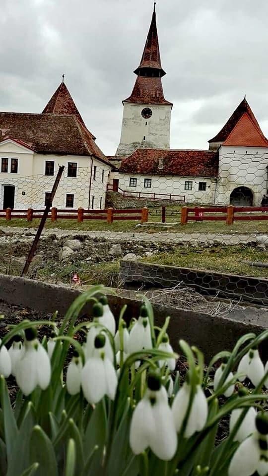 obiective turistice Romania, biserica fortificata din Archita