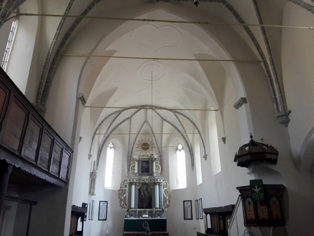 Biserica din Saschiz, obiective turistice Transilvania, Romania