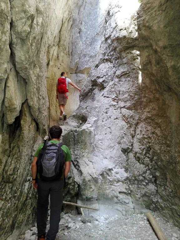 Canionul Horoabelor, Valea Horoabei, Cheile Horoabei, Padina, Bucegi, traseu munte, obiective turistice Romania