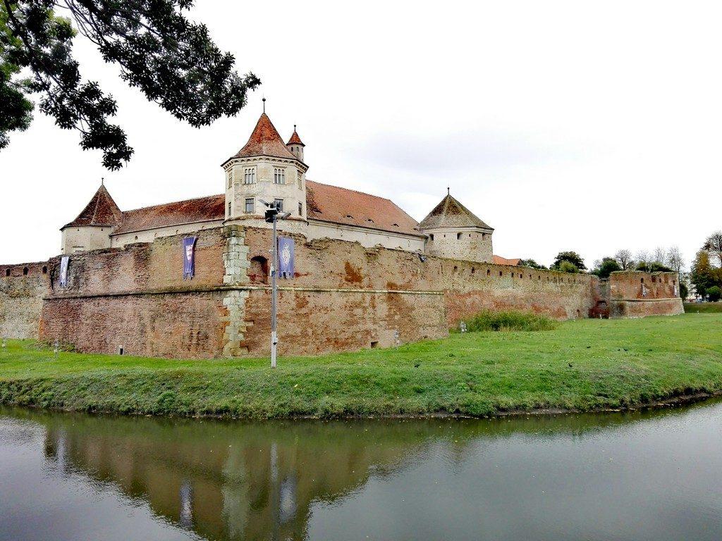 Cetatea Fagarasului, obiective turistice Brasov, Romania