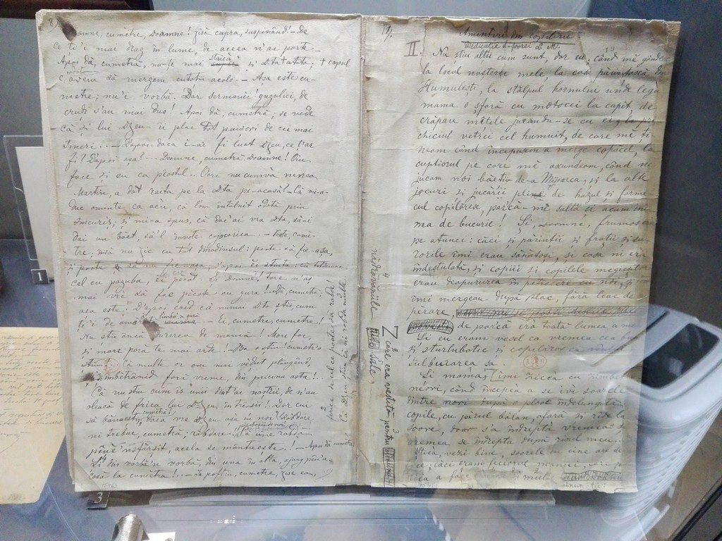 Amintiri din copilarie, Ion Creanga, Muzeul Literaturii Romane, Bucuresti, Romania