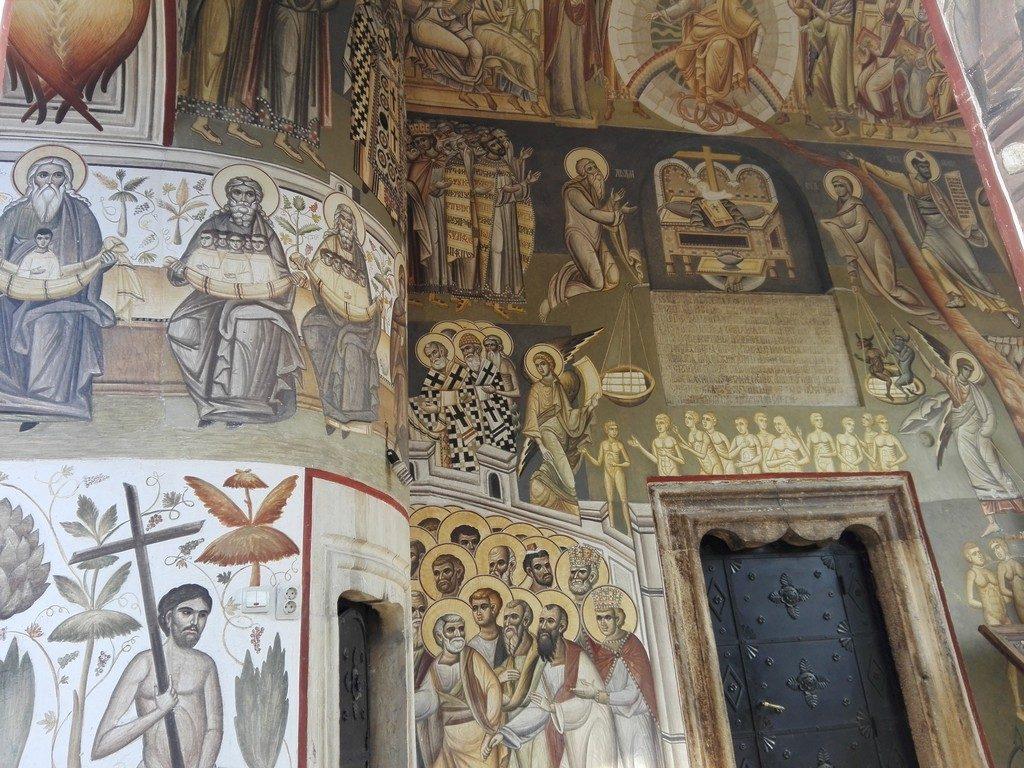 Biserica Herasti, Matei Basarab si Nasturel, obiective turistice in jurul Bucurestiului, Milan Obrenovici