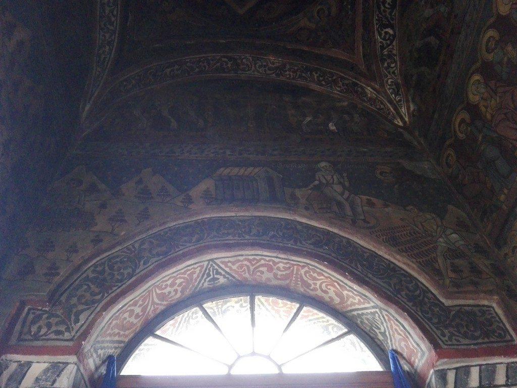 Biserica Joseni, Pietrosita, obiective turistice Valea Ialomitei, Dambovita, Romania