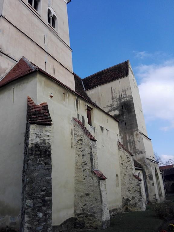 Biserica evanghelica Cisnadie, obiective turistice Sibiu, Romania