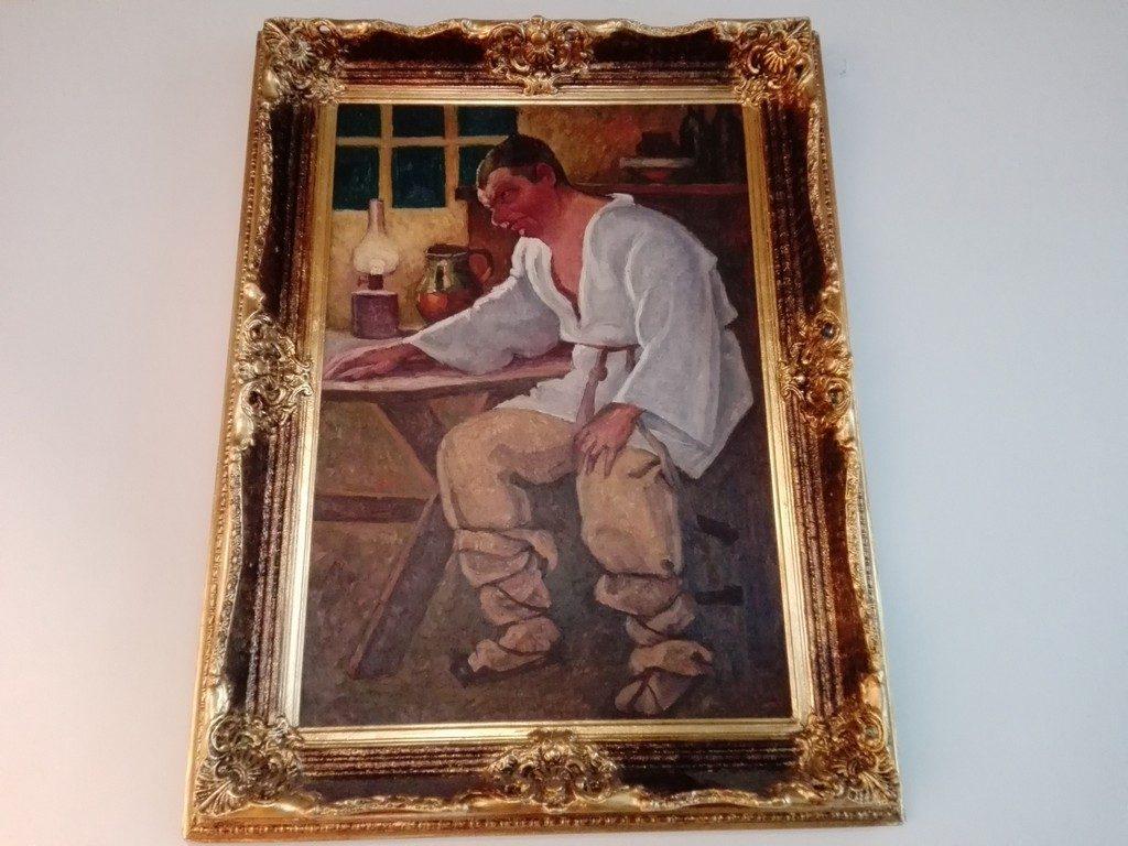 Camil Ressu, Napasta, Muzeul Literaturii Romane, Bucuresti, Romania, Muzeul Literaturii Romane, Bucuresti, Romania