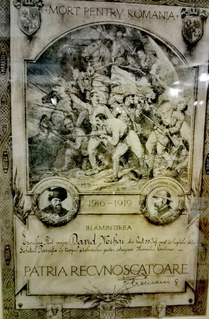 Mort-pentru-patrie-Patria-recunoscatoare-Primul-Razboi-Mondial-Ferdinand-si-Mihai-Viteazu