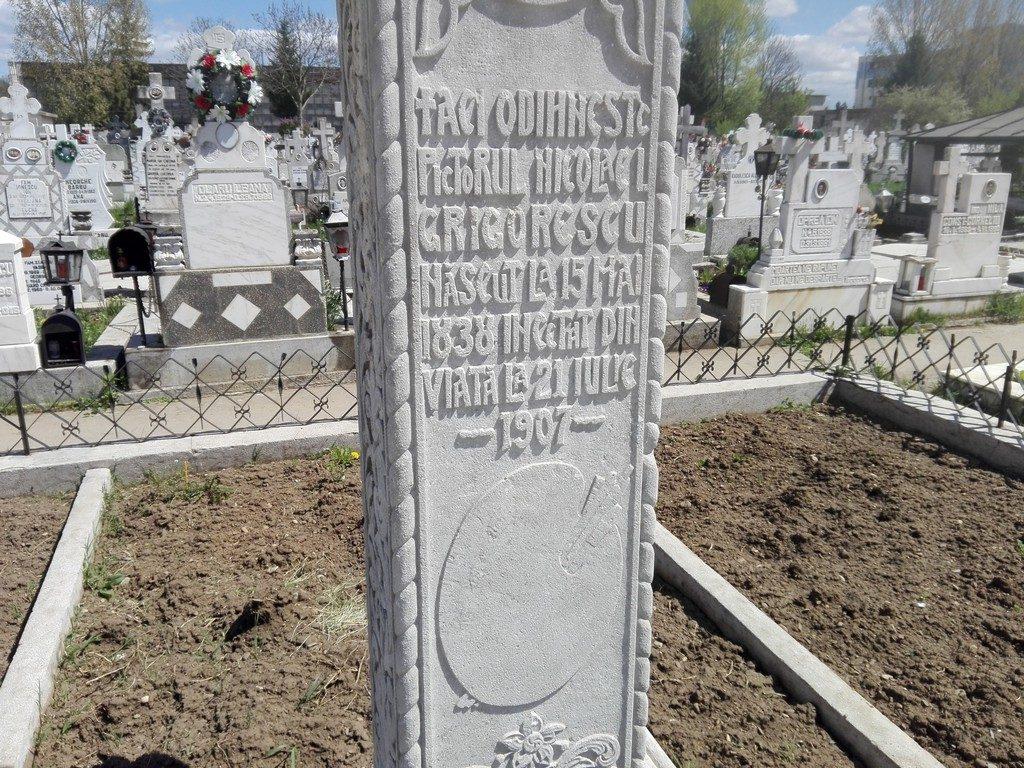 Mormantul pictorului Nicolae Grigorescu, Campina, Romania