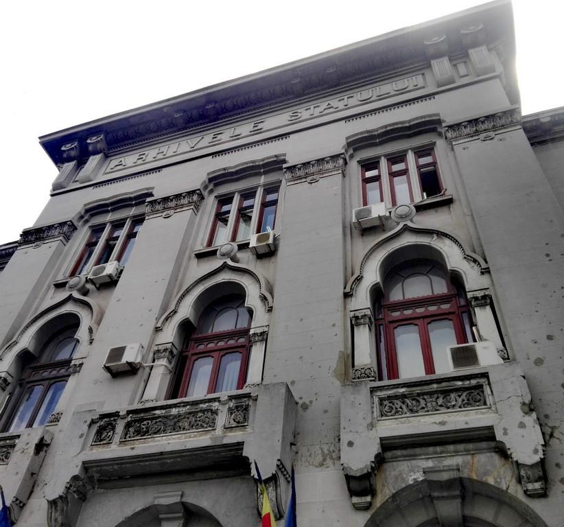 Arhivele Statului, arhitectura Bucuresti, obiective turistice Romania