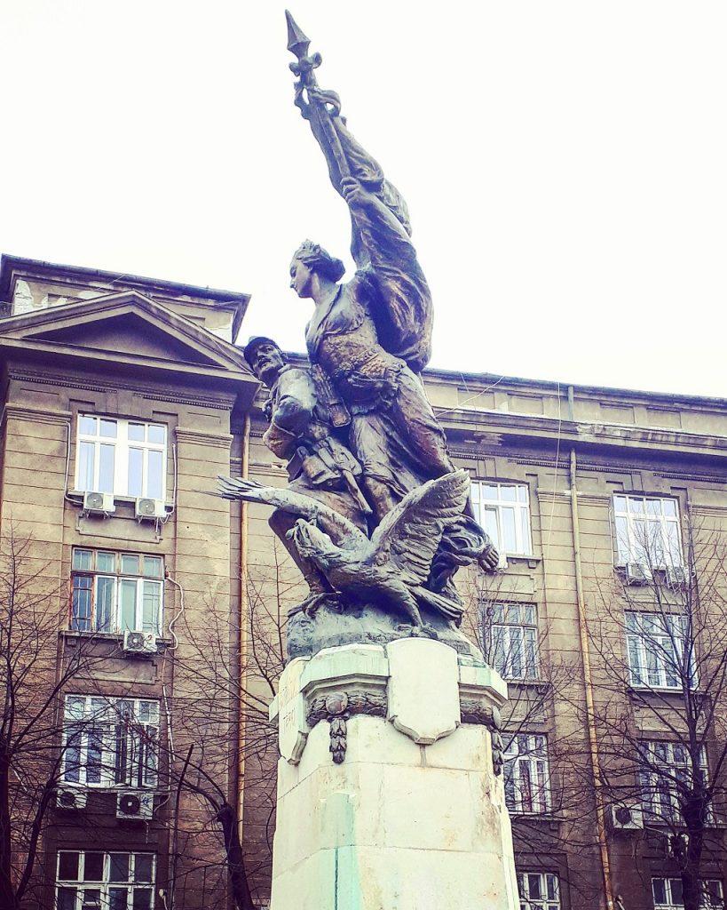 Avantul Tarii, sculptura Bucuresti, Romania, cismigiu, obiective turistice