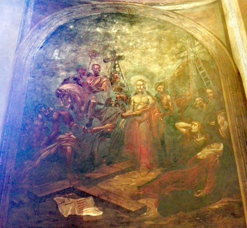 Biserica Schitul Magureanu, Bucuresti, pictor Gheorghe Ioanid