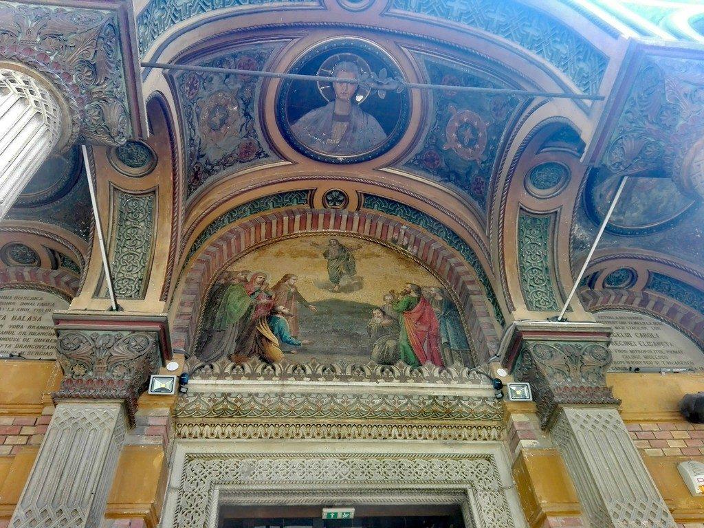 Biserica domnita Balasa Bucuresti, obiective turistice Romania, Brancoveanu