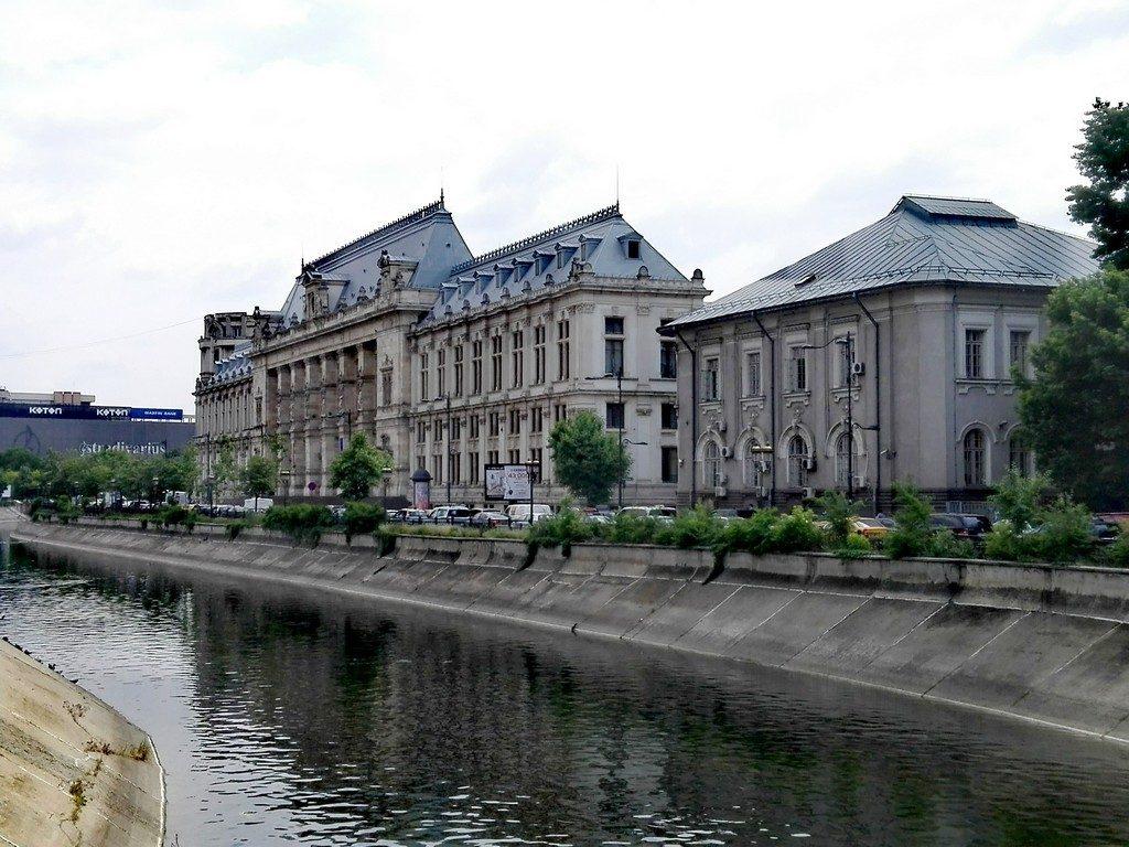 Cheiul Dambovitei, Palatul Justitiei, arhitectura Bucuresti, obiective turistice Romania