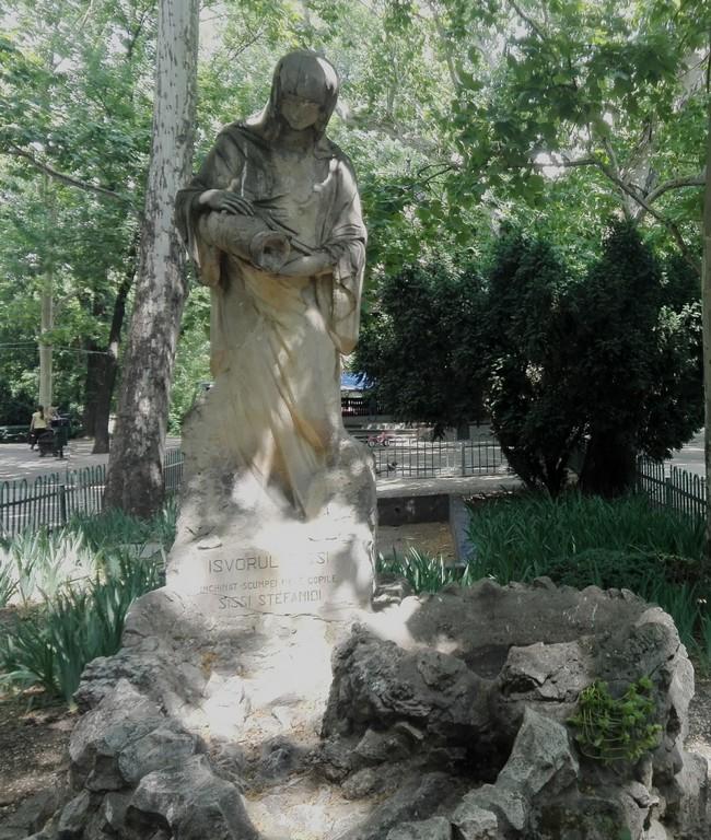 Izvorul lui Sissi Stefanidi, Parcul Cismigiu, obiective turistice Bucuresti, Romania