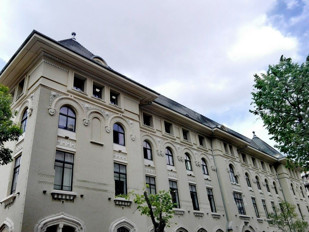 Primaria Bucuresti, arhitect Petre Antonescu, neoromanesc, arhitectura Bucuresti, obiective turistice Romania