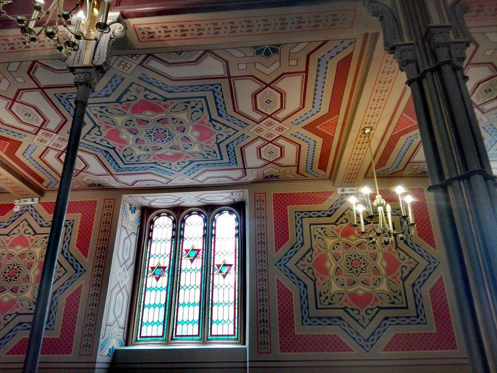 Templul Coral, mozaic, evreiesc, evrei, Bucuresti, obiective turistice Romania, arhitectura maura