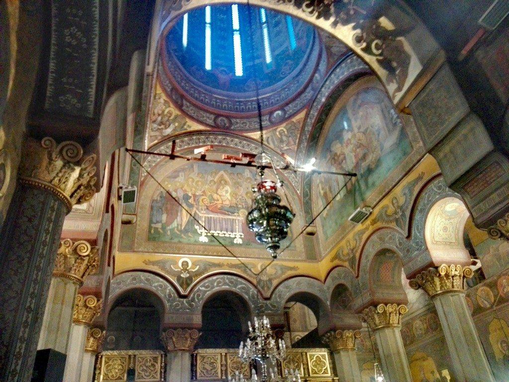 obiective turistice Bucuresti, Romania, Patriarhie, Palatul Patriarhiei, Cuza, Radu Serban