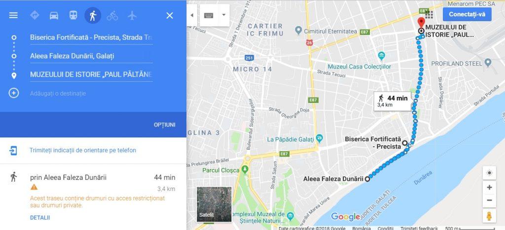 obiective turistice Galati, Romania, arhitectura, cladiri istorice Moldova