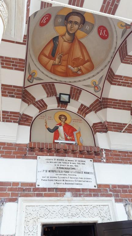 Biserica Plevna, mormantul pompierilor de la Dealul Spirii, 1848, obiective istorice