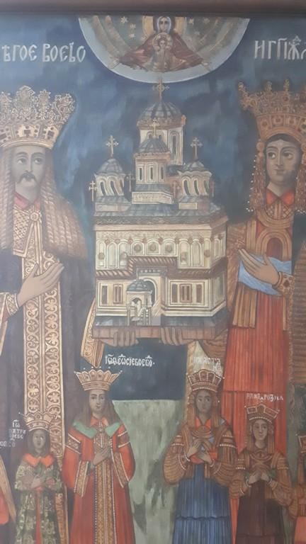Muzeul Municipal Curtea de Arges, Biserica Domneasca, obiective turistice Romania