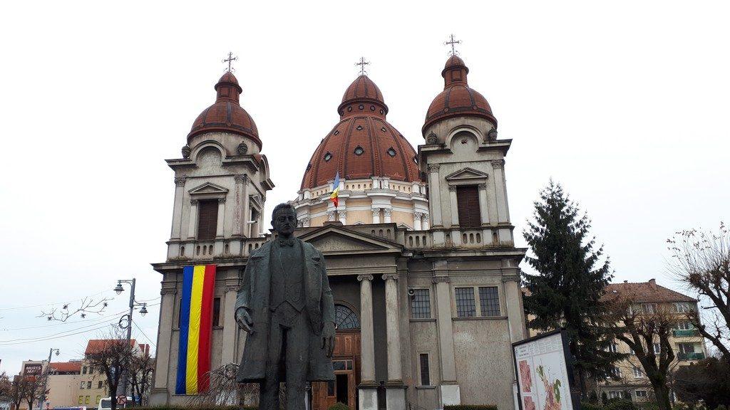 Biserica Greco Catolica Targu Mures, Romania, obiective turistice, arhitectura Transilvania