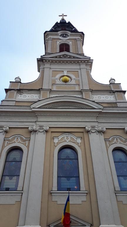 Biserica cu Luna, obiective turistice Oradea, Transilvania, Romania